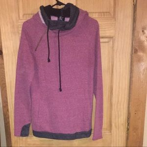 Large double hoodie